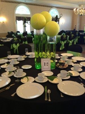 33 Best Tennis Party Ideas Images On Pinterest | Tennis Party, Tennis  Decorations And Tennis Cake