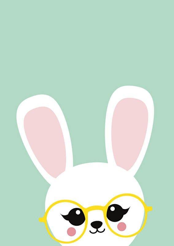 Poster konijn kiekeboe Poster konijn kiekeboe staat in elke hippe kinderkamer voor een meisje of een jongen. Ook leuk om kado te doen of om zelf te gebruiken! Zo creëer je ...