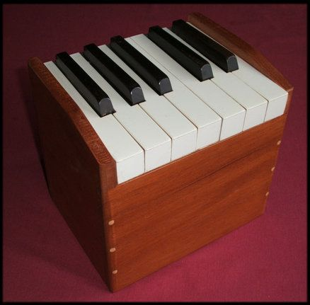 Idea for my old piano keys from a piano we dissasembled!