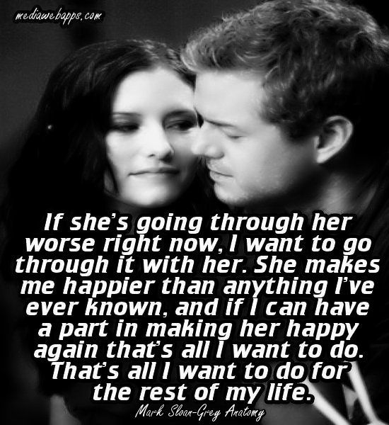 Grey's Anatomy <3 Mark Sloan talking about Lexie Grey. Melts my heart....I need to find my mcdreamy and mcsteamy