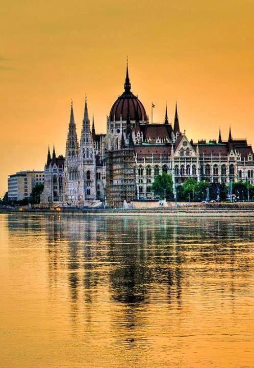 Budapest: houses of Parliament.