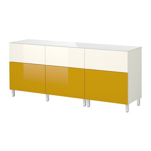 BESTÅ Storage combination w doors/drawers IKEA - an option for toy storage next to egg chair