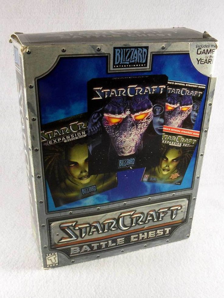 StarCraft Battle Chest PC & Apple Mac Real Time Strategy T - Teen 2000
