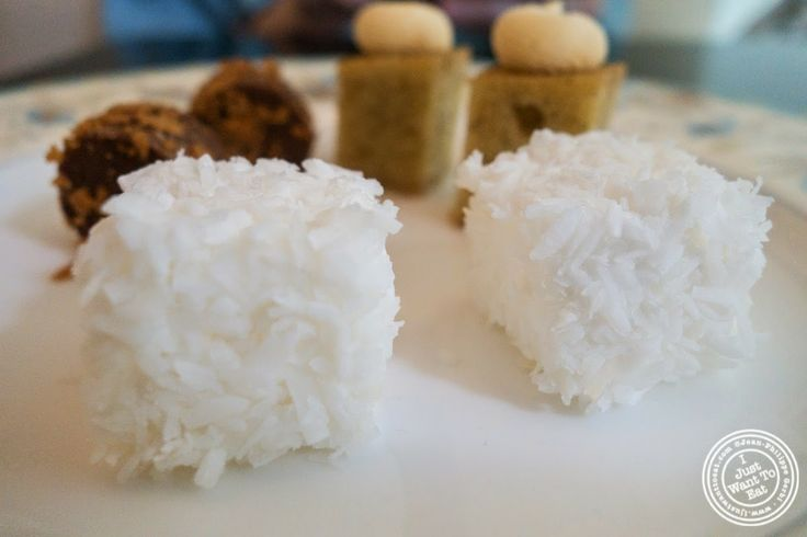 image of coconut marshmallow at Chikalicious Dessert Bar in the East Village, NYC, NY