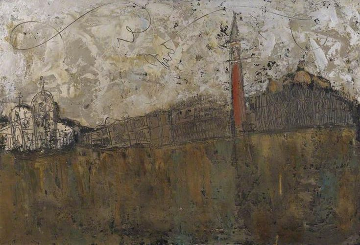 Canal, Venice (Venice from the Giudecca) - Congdon William - WikiArt.org