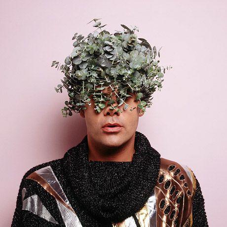 Australian Indigenous artist Christian Thompson - born 1978.