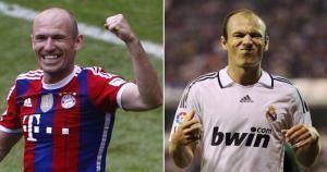 Arjen Robben jugó en el Chelsea antes de fichar por Real Madrid y Bayern Munich. Fue la mejor eecision de su vida dejar el Real Madrid. May 14, 2014