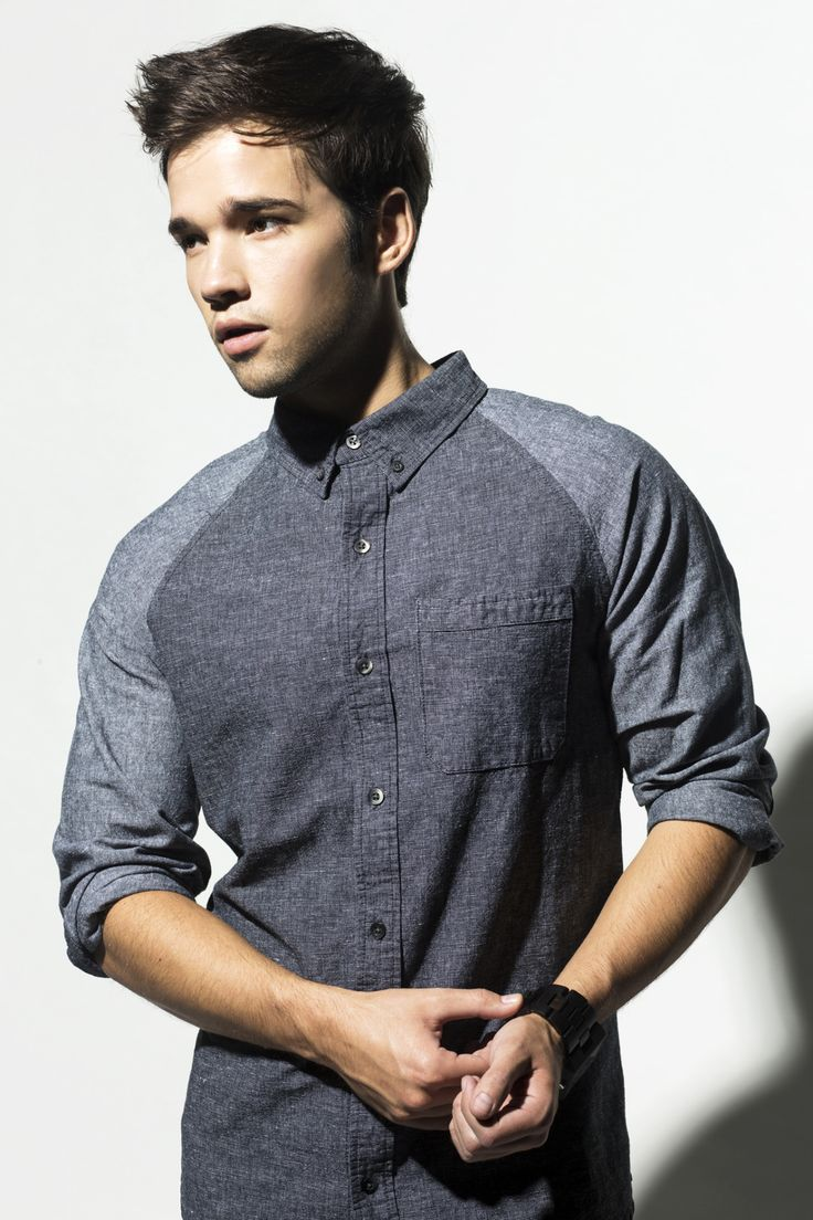Nathan Kress photographed by Isaac Alvarez -  Men in Vogue