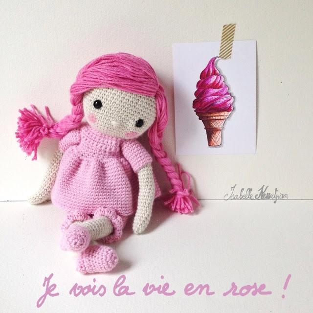 Isabelle Kessedjian: Ma poupée au crochet.