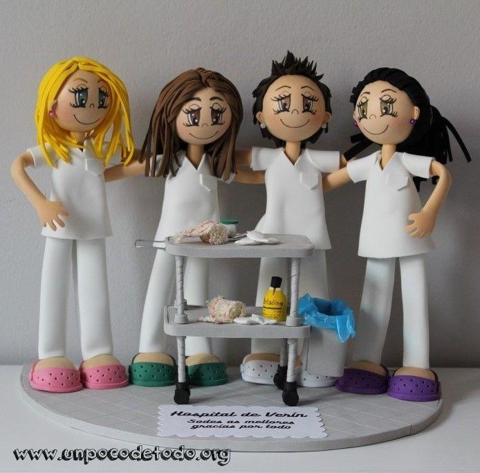 www.unpocodetodo.org - Fofuchas para el Hospital de Verín - Fofuchas - Goma eva - crafts - custom - customized - enfermera - foami - foamy - gomaeva - manualidades - nurse - personalizado -