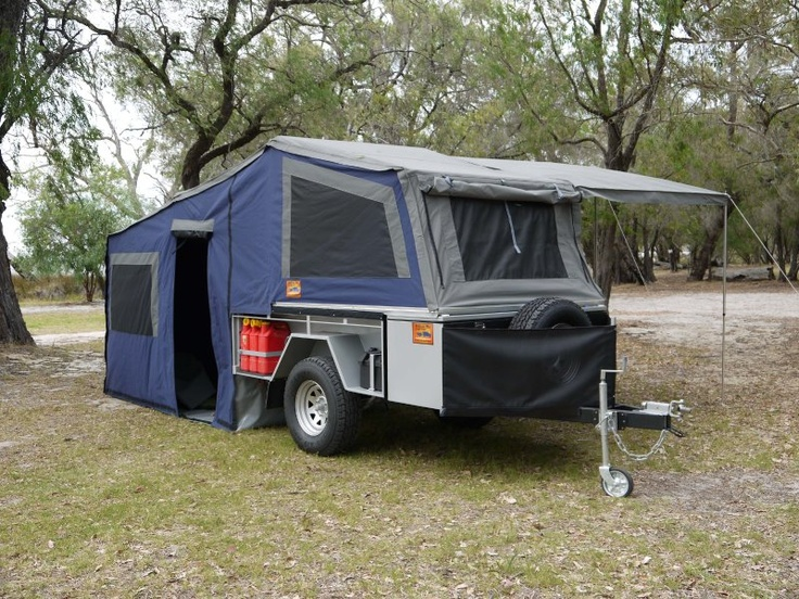 how to set up cavalier camper trailer