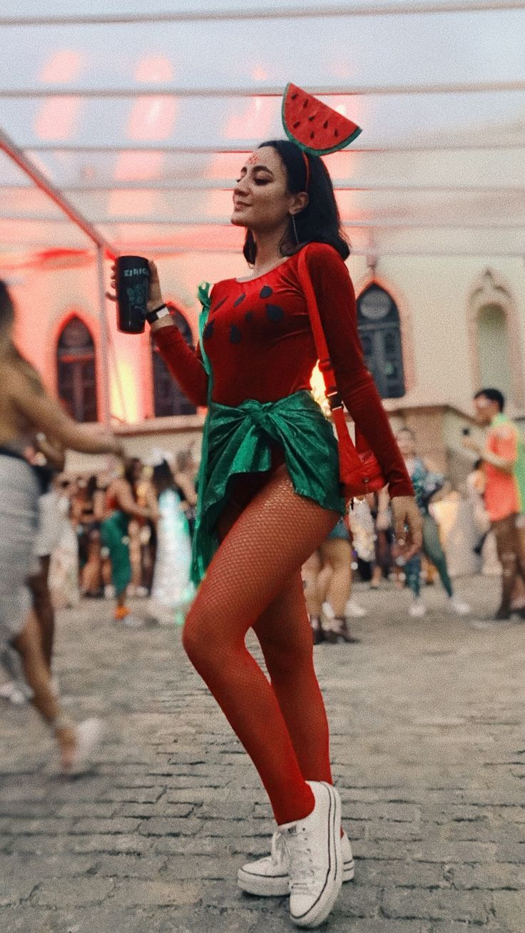 Fantasy Wassermelonenkarneval # carnaval2019 #melan … – # carnaval2019 #karneval #cosplay #Fantasie