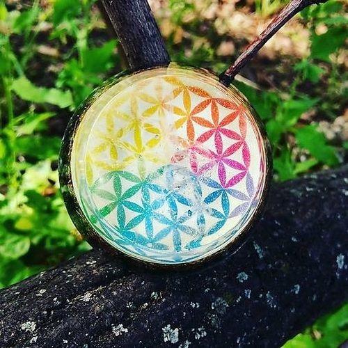 Orgonit Kvet života color