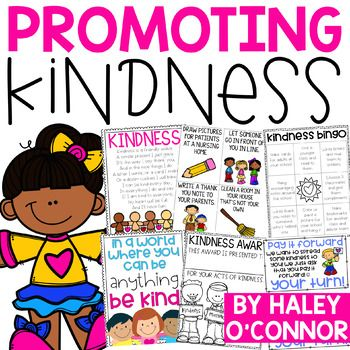 Kindness Activities and Printables {Random Acts of Kindness} This packet is FULL of activities, printables, writing pages, and more to get your students thinking about kindness and acting kind!