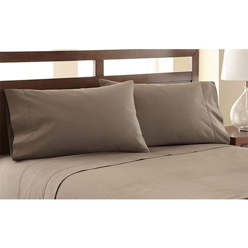 Symphony Khaki Four-Piece 1200 Thread Count California King Sheet Set - (In No Image Available)
