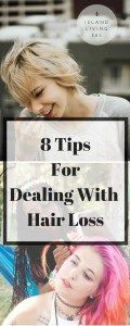 8 tips for dealing with hair loss