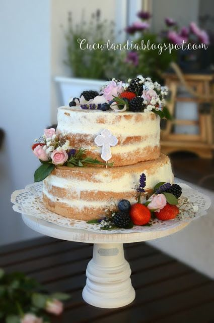 Cuculandia: NAKED CAKE na Chrzest Św.