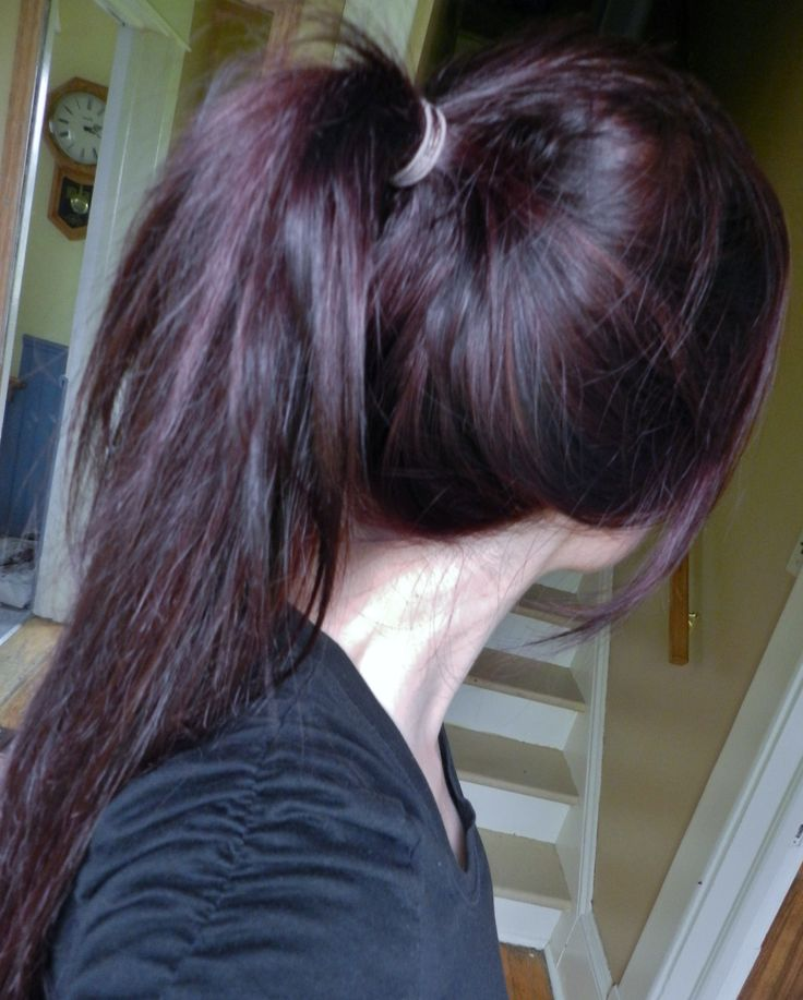 plum hair | hair | Pinterest