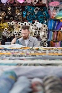 Mood Fabrics, as shown often in Project Runway.   Tips for First-Time Visitors to Mood Fabrics NYC