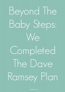 Hear from a family who completed all of #DaveRamseys 7 baby steps