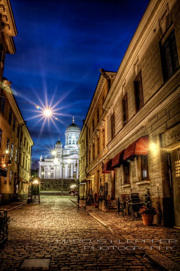 Sofiankatu Helsinki by Marcus Klepper on 500px