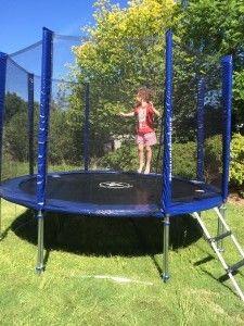 Little Jump Stars! Jump Star 10ft trampoline with enclosure & ladder ~ $300  www.jumpstar.com.au