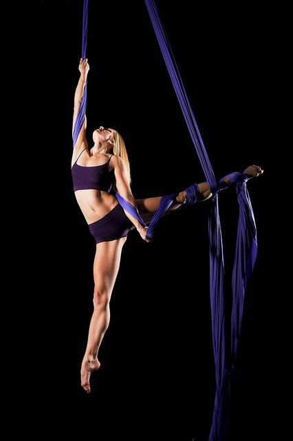 Sarah Romanowsky on aerial silks I dont think I'll ever get this. But i can hope.