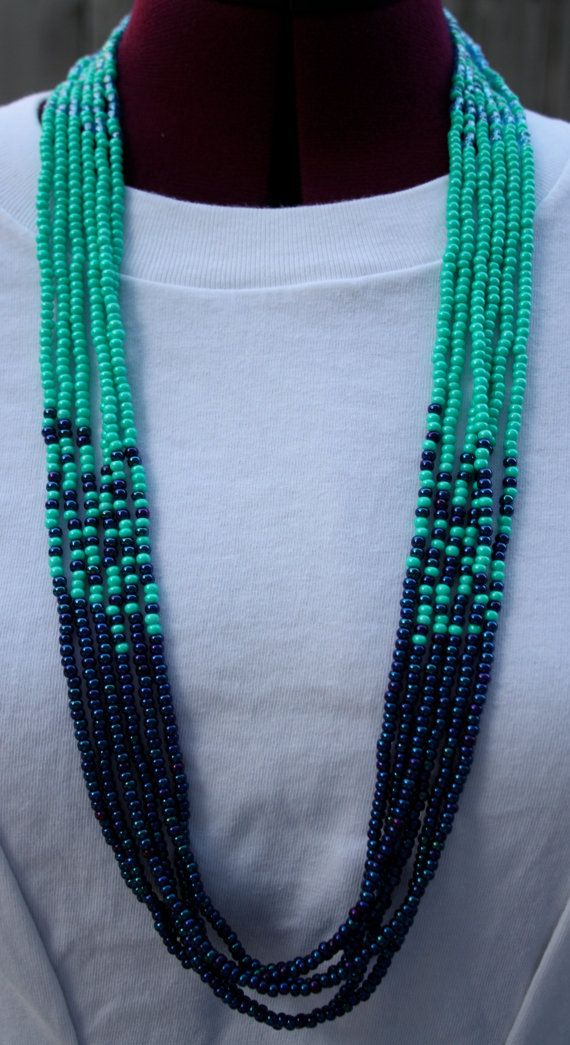 The Hanalei Multi Strand Necklace on Etsy, $40.00