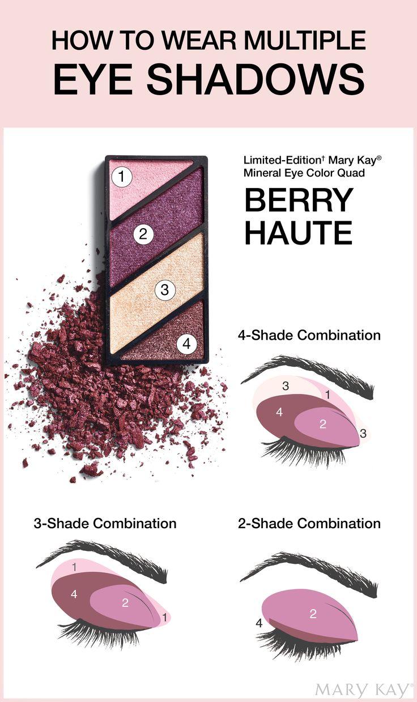 How to wear multiple Eye Shadows - Mary Kay Berry Haute