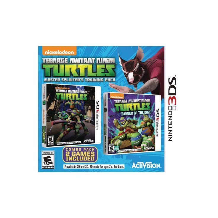 Tmnt Bundle: Master Splinter's Training Pack Nintendo 3DS