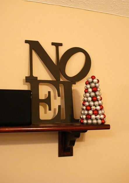 Easy Diy Christmas Wall Decorations : Best images about christmas easy diy noel sign on