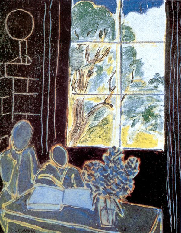 Matisse. The Silence That Lives In Houses. 1947.