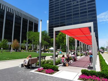 Rennovation of Perk Park is lifting values in adjacent buildings, having direct economic results. | Cleveland, Ohio