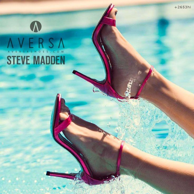 Steve Madden Stecy fuxia metallic