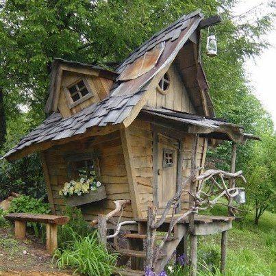 17 meilleures images propos de cabane jardin sur pinterest pi ces de monnaie maisons cubby. Black Bedroom Furniture Sets. Home Design Ideas