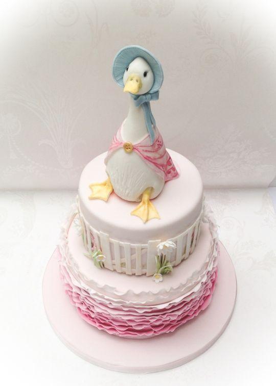 Jemima Puddle Duck - Cake by Samantha's Cake Design - CakesDecor