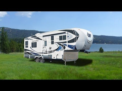 Quick Tour Of The Arctic Fox Silver Fox 28 5c Fifth Wheel Arctic