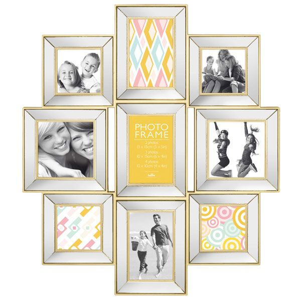 Maggiore Mirror I Multi Photo Frame | Frame that Photo | Pinterest ...