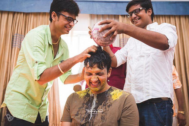 Marwadi Wedding, Bangalore | Haldi Ceremony | Weddings by Light Story | www.lightstory.in