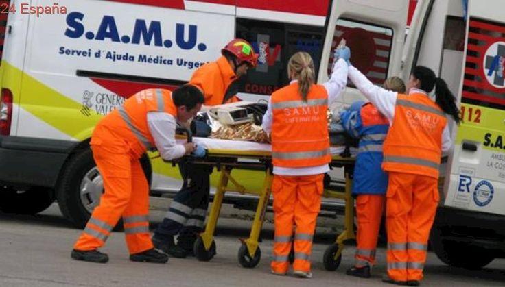 Una mujer de 84 años y un hombre de 37 resultan heridos tras ser atropellados por un coche en Valencia