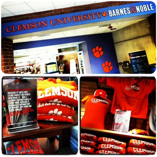 Alta Gracia @ Clemson University Bookstore