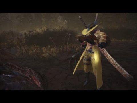 MHW PS4] Arch-Tempered Vaal Hazak Longsword 7'02