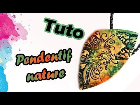 TUTO FIMO: TAMPONS ET ENCRE À ALCOOL   PolymerClay Tutorial Stamp and al...