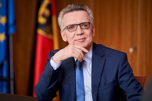 Bundesinnenminister Dr. Thomas de Maizière (Quelle: Henning Schacht)