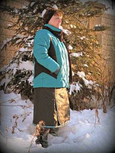 It's A Wrap snow skirt pattern, $21.99 Tired of being cold?