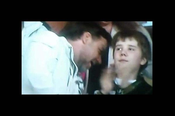 If you haven't seen the footage of Russell Crowe's son telling him to 'GET OUT OF MY FACE!' at the Rugby last Friday evening, then please, https://vine.co/v/Oa7Lpb7atOw