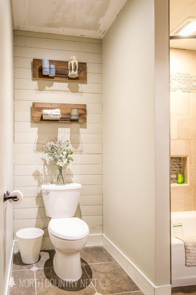 Guest Bathroom Final Reveal Guest Bathroom Decor Bathroom Decor Apartment Simple Bathroom Renovation