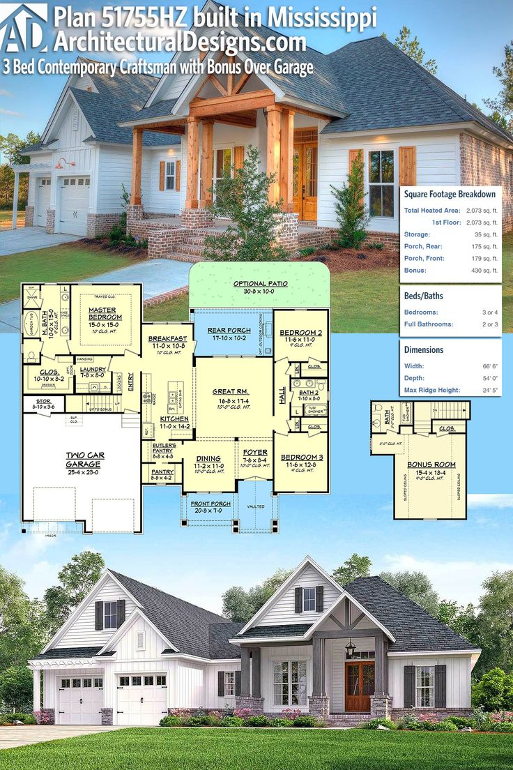 1483 best architectural designs editor 39 s picks images on for 3br 2ba house plans