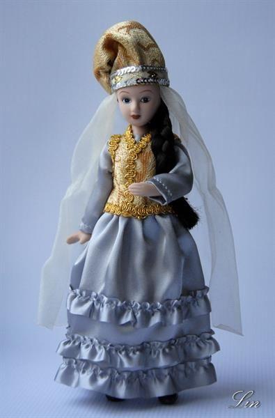 Татарский свадебный костюм фото