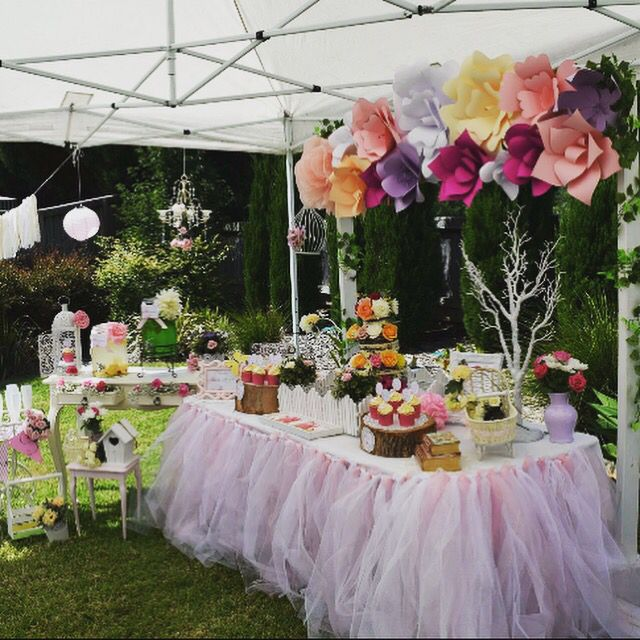 Garden themed Baby Shower styling by Tickled Pink Celebrations www.tickledpinkcelebrations.com.au